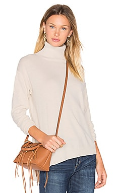 Side Slit Sweater in French Vanilla