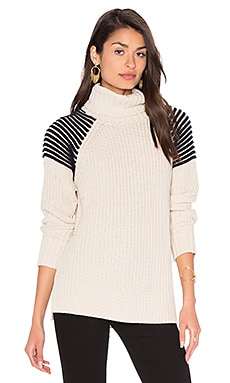 Turtleneck Sweater in French Vanilla