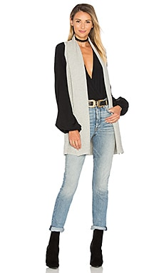Cotton Shaker Sleeveless Cardigan