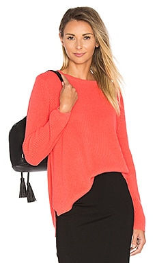 Emma Sweater in Sunset Coral