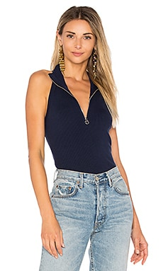 Sleeveless Cutaway Top