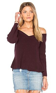 Укороченный свитер с баской - 525 america