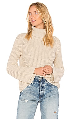 Turtleneck Bell Sleeve Sweater