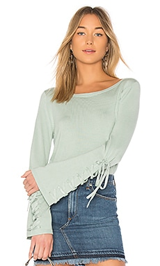 Laced Sleeve Sweater 525 america $44