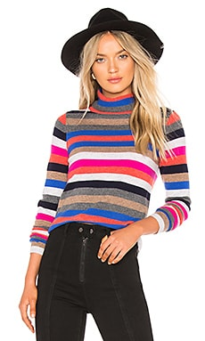 Cashmere Striped Turtleneck 525 america $60 (FINAL SALE)