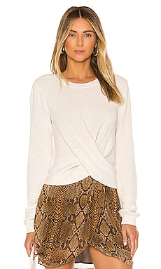 Twist Top Pullover 525 america $78 NEW ARRIVAL