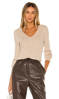 Wide V Neck Pullover Sweater 525 $78 BEST SELLER