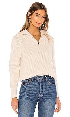 Half Zip-Up Pullover 525 america $98