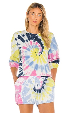 Tie Dye Basic Crew Sweatshirt 525 $44 (FINAL SALE)