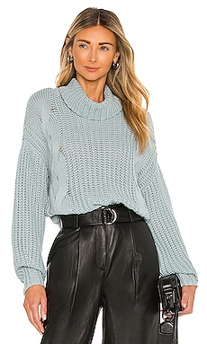 Turtleneck Shaker with Cable 525 $128 NEW
