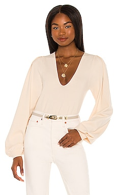 Dramatic Long Sleeve V-Neck Pullover 525 $118