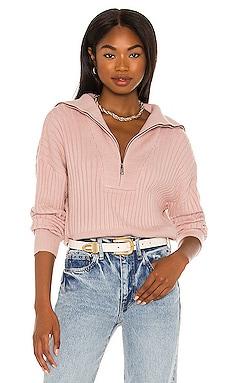 Rib Quarter Zip Sweater 525 $118
