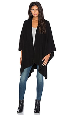 Blanket Wrap in Black