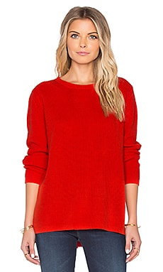 525 america Emma Sweater in Bonfire Red