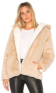 Vegan Fur Reversible Jacket