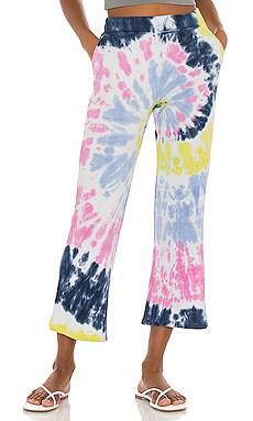 Tie Dye Crop Flare Sweatpant 525 $69