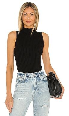 Rib Mockneck Bikini Bodysuit 525 $108
