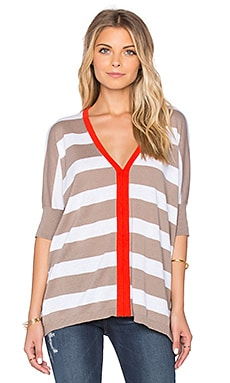TOP FORME PONCHO RUGBY STRIPE
