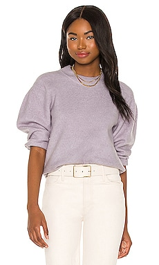 Cropped Volume Sleeve Top 525 $98