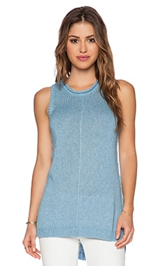 DENIM YARN TANK