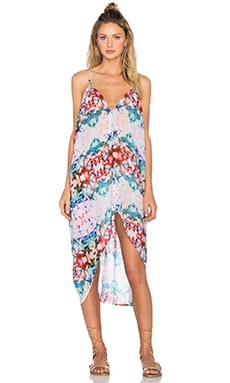 Carnival Cover Up Dress en Cuban Floral