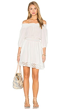 6 SHORE ROAD Brunchtime Dress in Moonlight White
