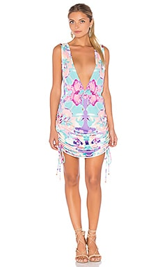 Travelers Cover Up Dress in Floral Bazar