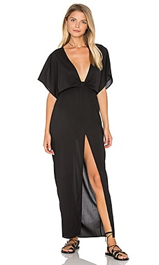 Chica Cover Up Dress en Black Rock