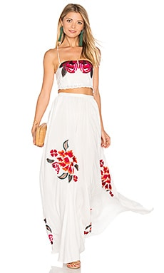 Boho Dress Set en Moonlight White