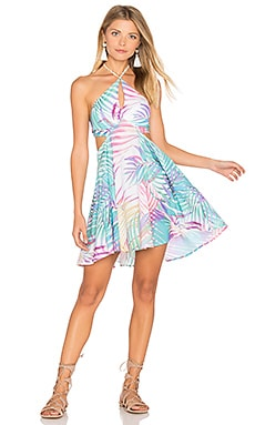 Beach House Dress en Royal Palm