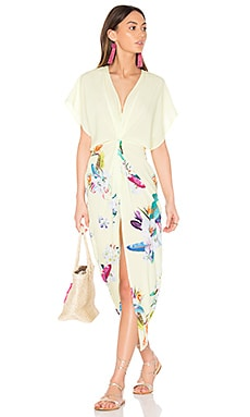 Pelican Cover Up Dress in Paradise Floral