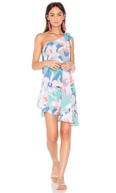 Happy Hour Cover Up Dress in Waterfall Floral