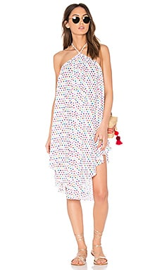 Cascada Cover Up Dress in Multi Polka Dot