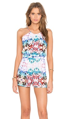 Pum Punch Romper in Cuban Floral