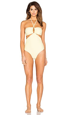 6 SHORE ROAD Push Cart One Piece Swimsuit in Sunny