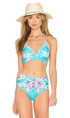 La Playa Bikini Top in Coco Floral