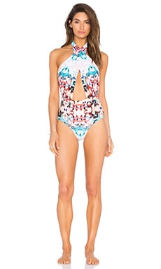 Cabana One Piece Swimsuit in Cuban Floral