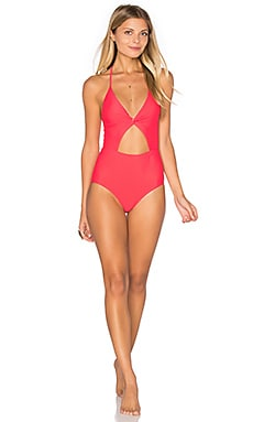 Divine One Piece Swimsuit in Marigold