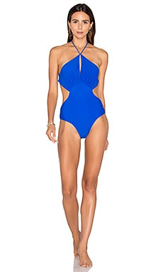 Islanders One Piece Swimsuit en Cosmic Blue