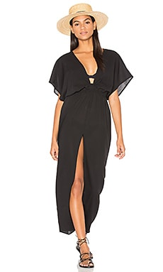 Chica Cover Up Dress in Black Rock