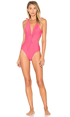 Baracoa One Piece Swimsuit in Fiesta Red