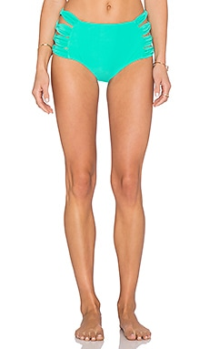 6 SHORE ROAD Bonita Bikini Bottom in Seafoam