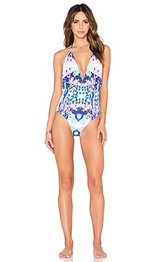 Coast One Piece Swimsuit in Havana Floral