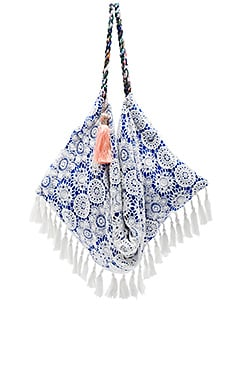 Sunset Beach Bag em Cosmic Blue