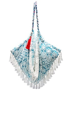 Sunset Beach Bag in Azure