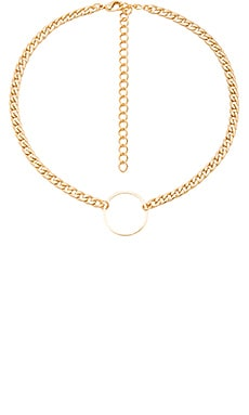 Ring of Fire Choker in Gold