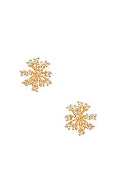 Starburst Earrings in Gold