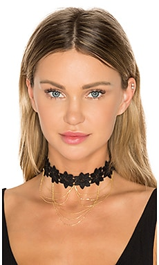 Moulin Choker in Gold