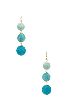 Amore Earring in Blau