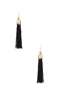 Zoey Earrings in Black